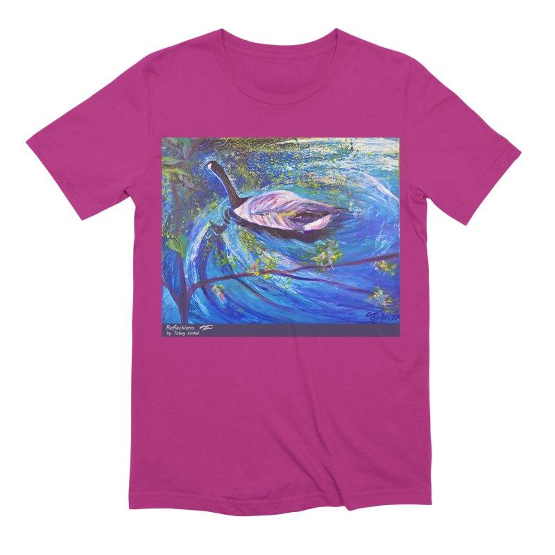 Relections Men's Extra Soft T-Shirt by Tobey Finkel's Artist Shop