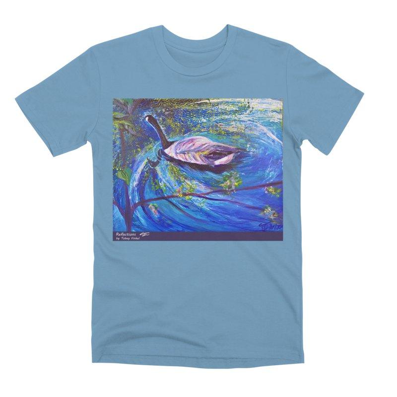 Relections Men's Premium T-Shirt by Tobey Finkel's Artist Shop