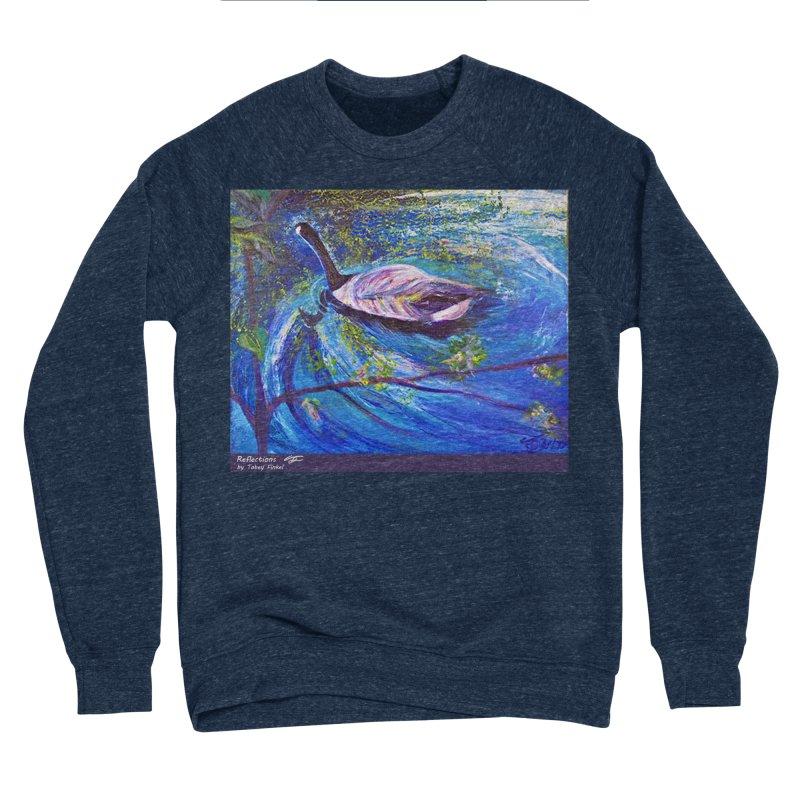 Relections Women's Sponge Fleece Sweatshirt by Tobey Finkel's Artist Shop