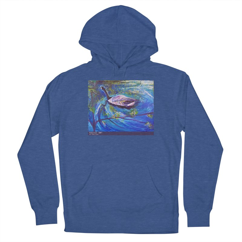 Relections Women's Pullover Hoody by Tobey Finkel's Artist Shop
