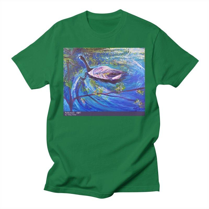 Relections Men's T-Shirt by Tobey Finkel's Artist Shop