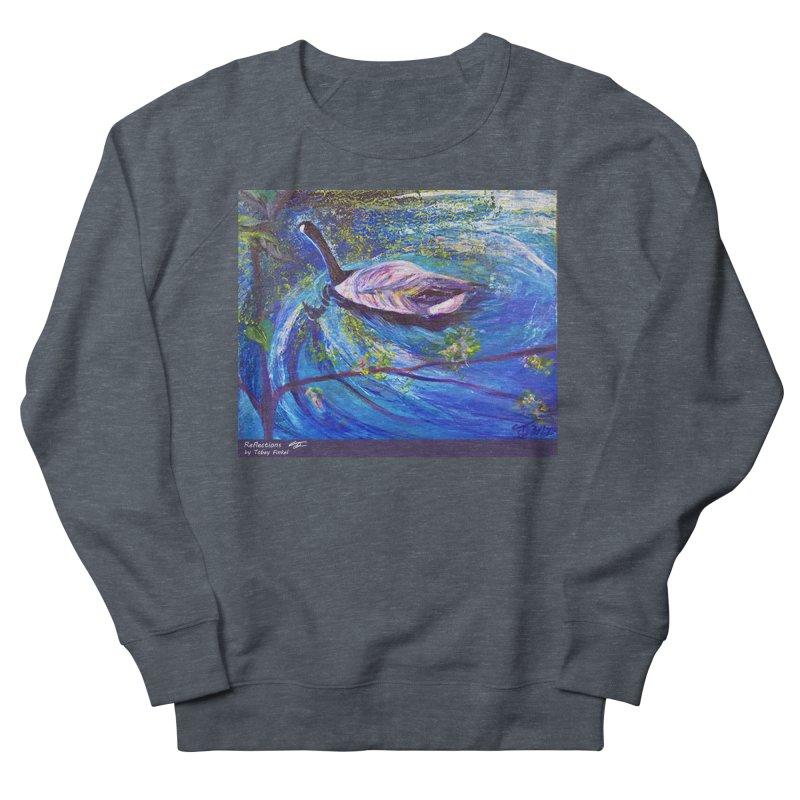Relections Women's French Terry Sweatshirt by Tobey Finkel's Artist Shop