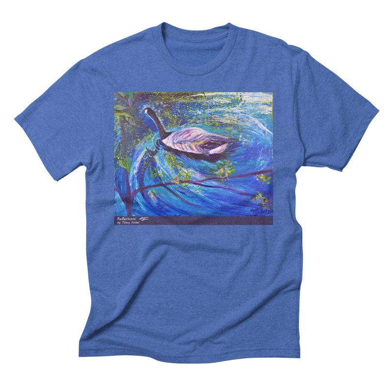 Relections Men's T-Shirt by Tobey Finkel's Artist Shop