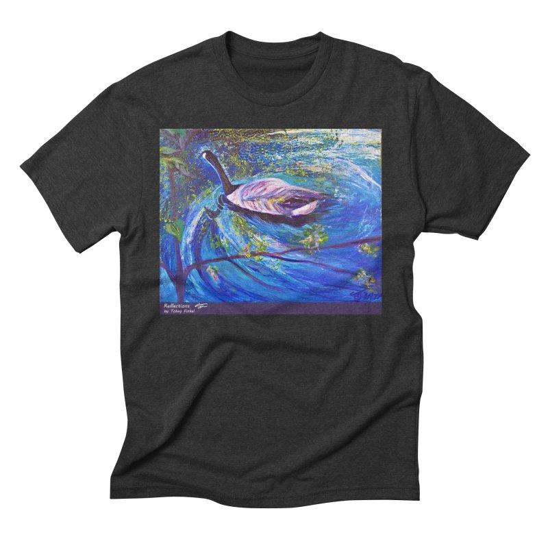 Relections Men's Triblend T-Shirt by Tobey Finkel's Artist Shop