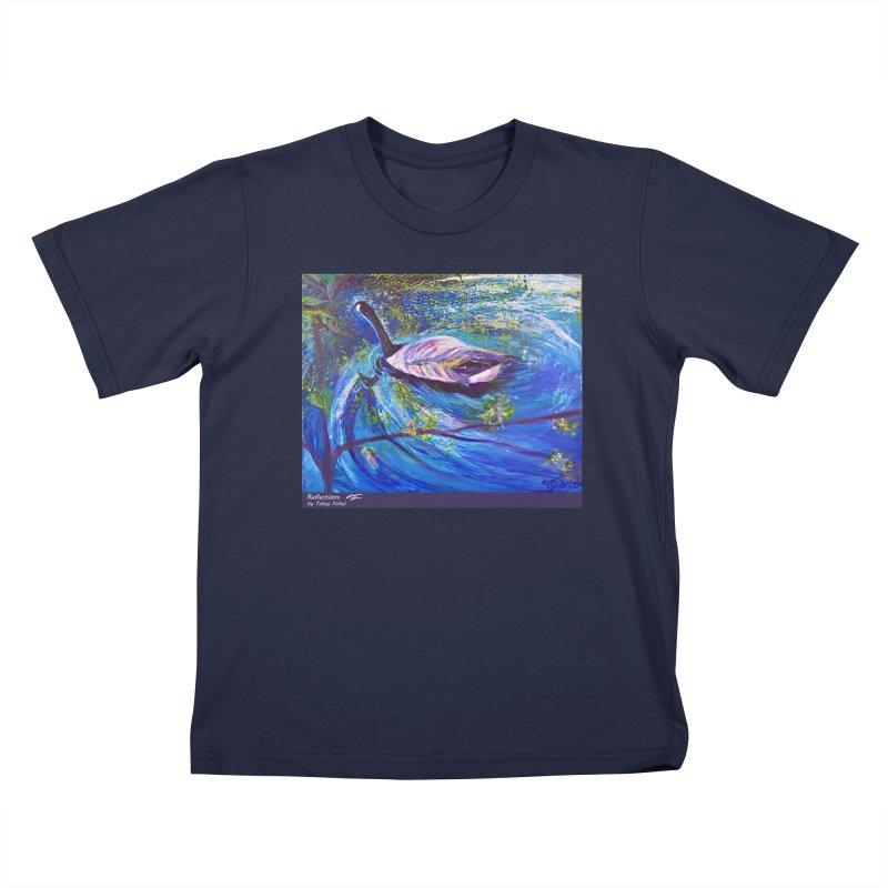 Relections Kids T-Shirt by Tobey Finkel's Artist Shop