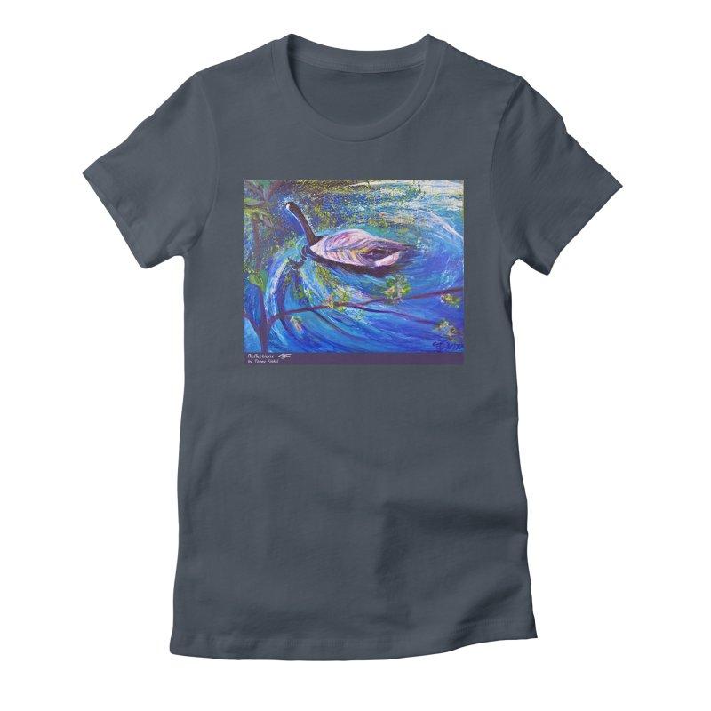 Relections Women's T-Shirt by Tobey Finkel's Artist Shop