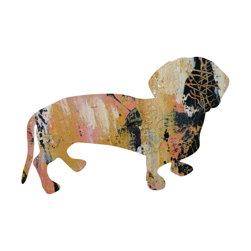 Abstract Doggie YP001 by Tobto Artist Shop