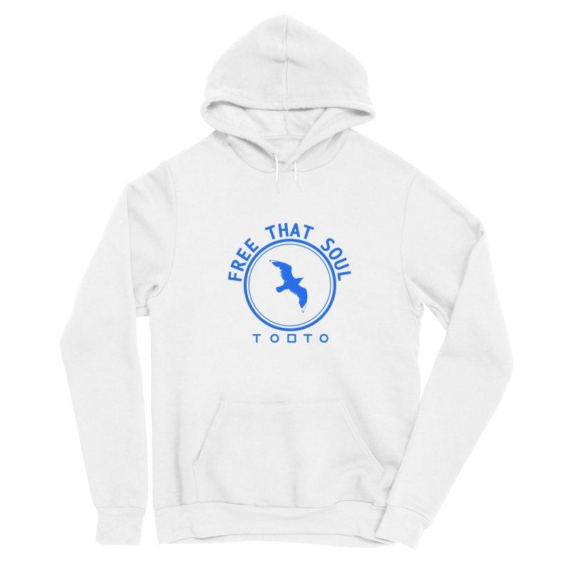 Free That Soul Blue Women's Pullover Hoody by Tobto Artist Shop