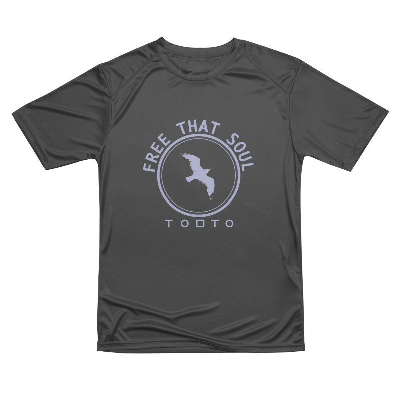 Free That Soul Light Grey Men's T-Shirt by Tobto Artist Shop