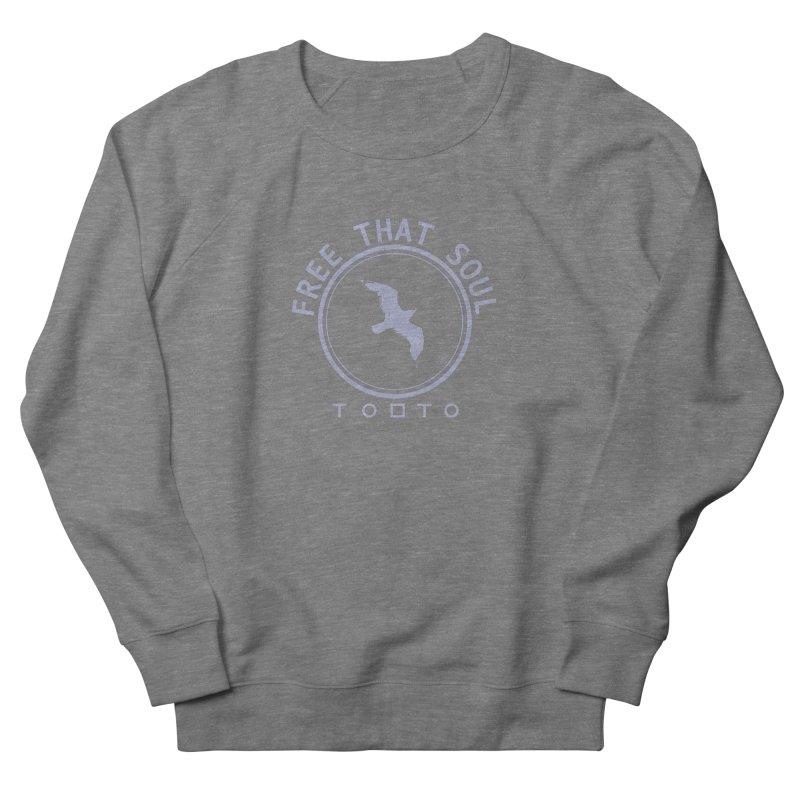 Free That Soul Light Grey Men's Sweatshirt by Tobto Artist Shop