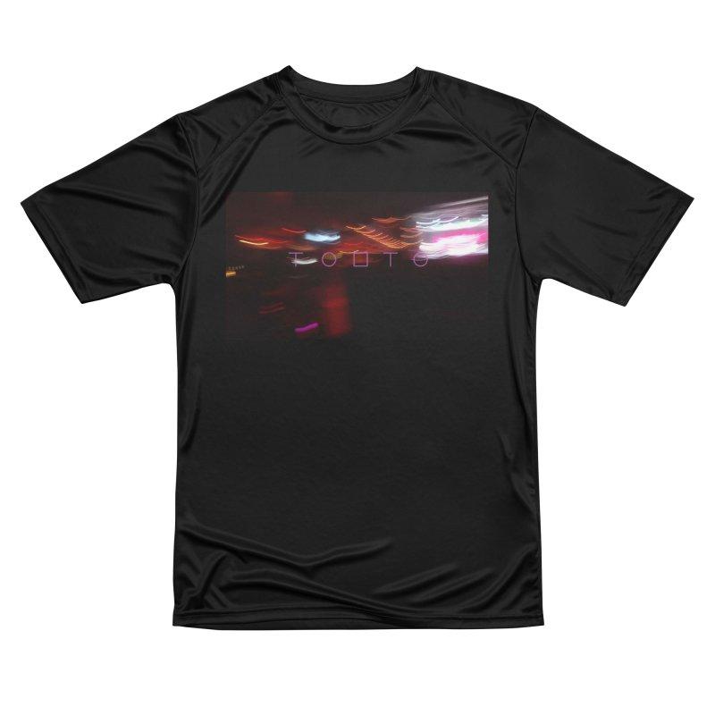 TOBTO Night City Blur Lights Men's T-Shirt by Tobto Artist Shop