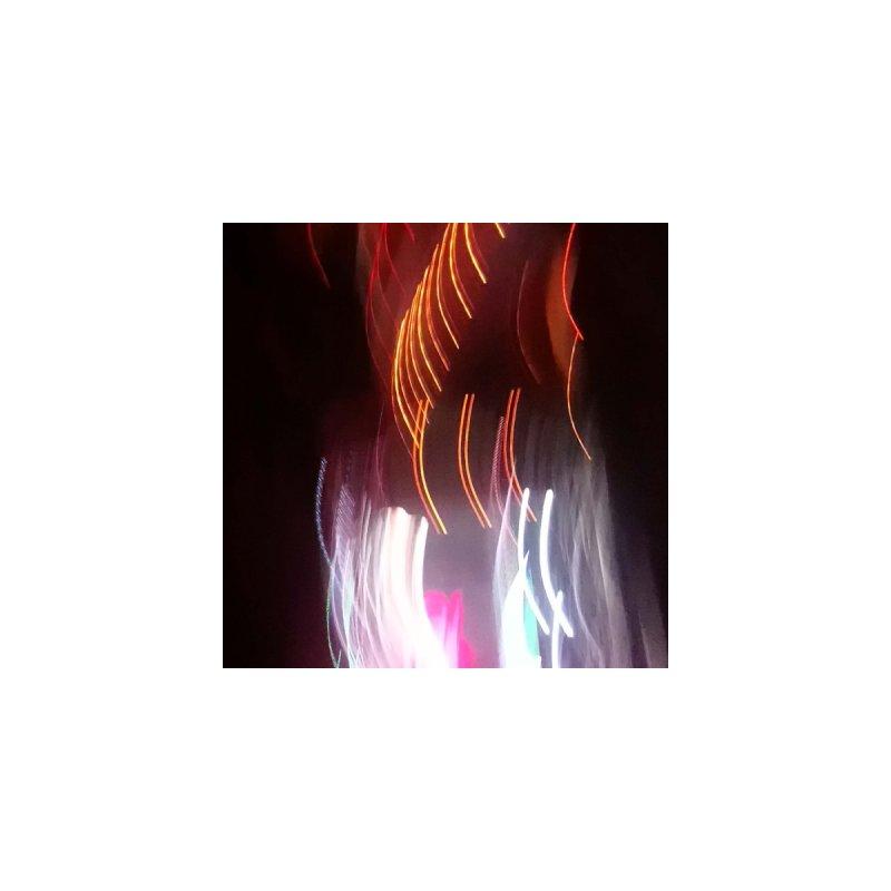 Night City Motion Blur Lights Women's Leggings Women's Bottoms by Tobto Artist Shop