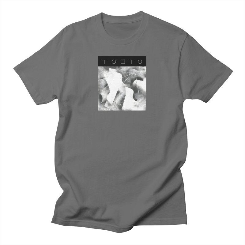 Tobto - pigeons w top black logo Men's T-Shirt by Tobto Artist Shop