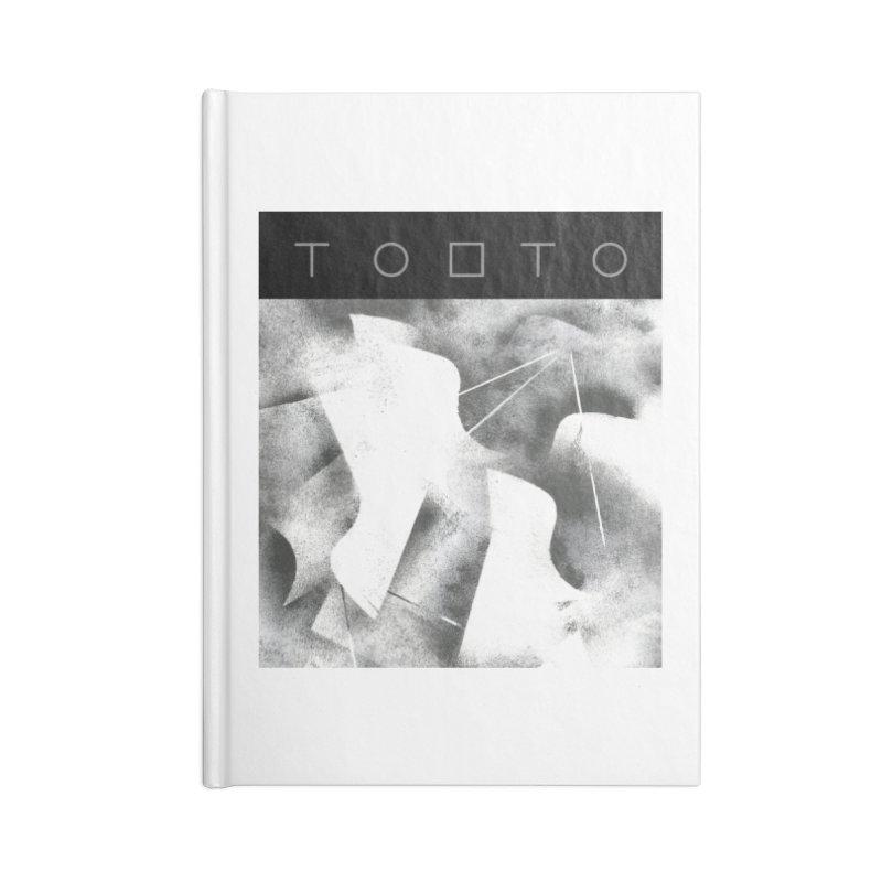 Tobto - pigeons w top black logo Accessories Notebook by Tobto Artist Shop