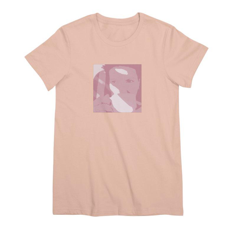 Summer Tea Pale Cherry Women's T-Shirt by Tobto Artist Shop