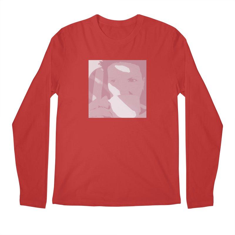 Summer Tea Pale Cherry Men's Longsleeve T-Shirt by Tobto Artist Shop