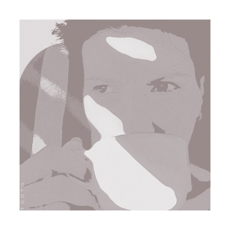 Summer Tea Pale Gray by Tobto Artist Shop