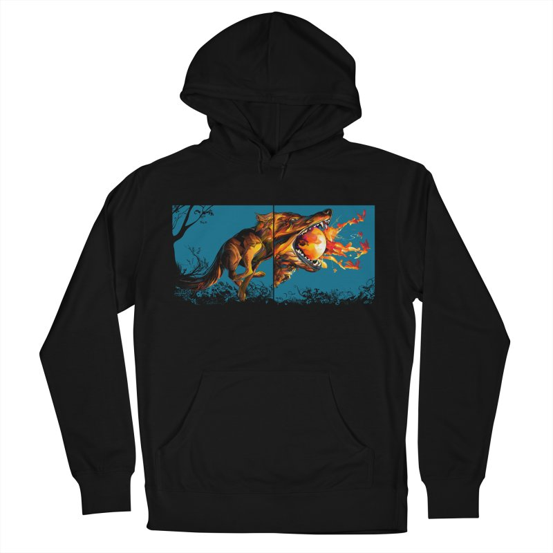 The Wolf Men's Pullover Hoody by Todd Powelson's Artist Shop