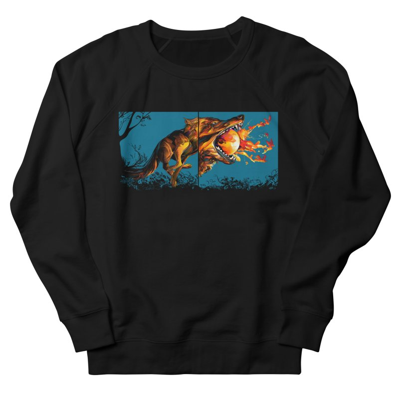 The Wolf Women's Sweatshirt by Todd Powelson's Artist Shop