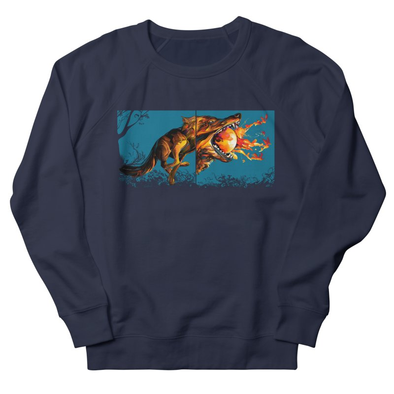 The Wolf Men's Sweatshirt by Todd Powelson's Artist Shop