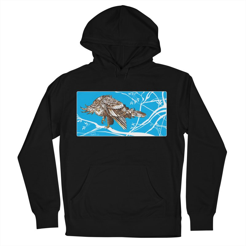 Bird of Prey Men's Pullover Hoody by Todd Powelson's Artist Shop