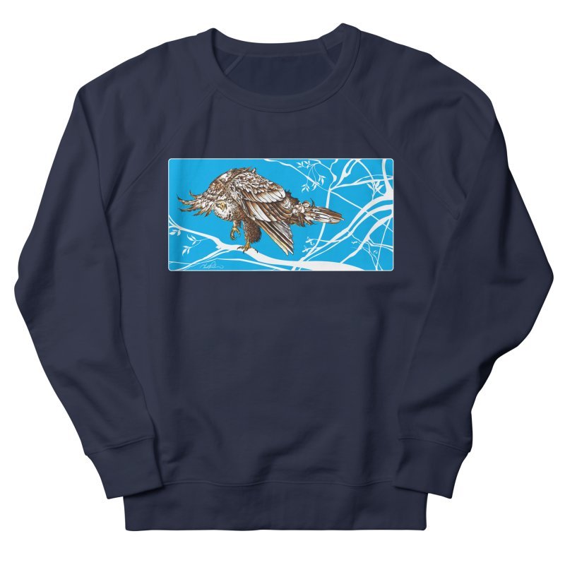 Bird of Prey Men's Sweatshirt by Todd Powelson's Artist Shop