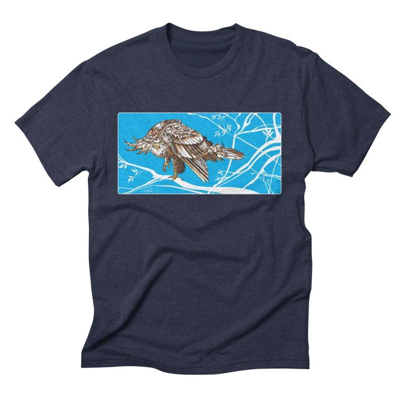 Bird of Prey Men's Triblend T-Shirt by Todd Powelson's Artist Shop