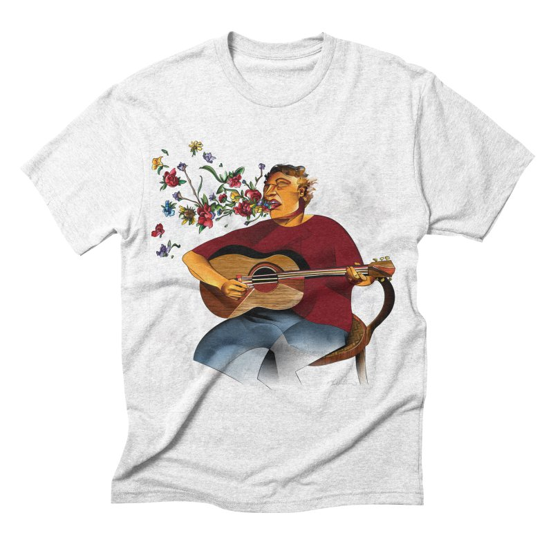 Guitar Men's Triblend T-shirt by Todd Powelson's Artist Shop