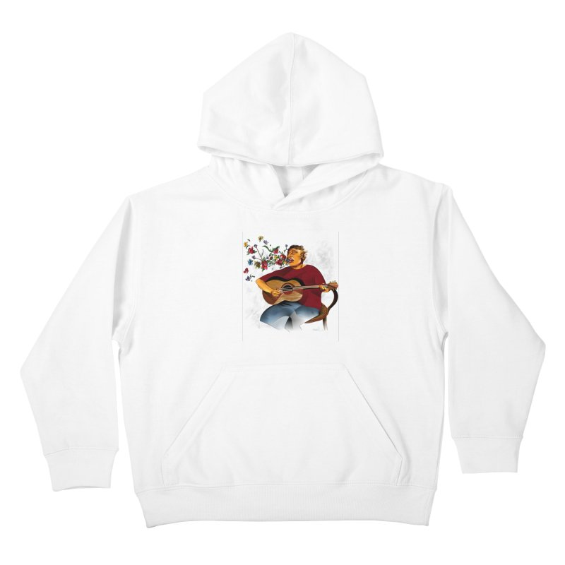 Guitar Kids Pullover Hoody by Todd Powelson's Artist Shop