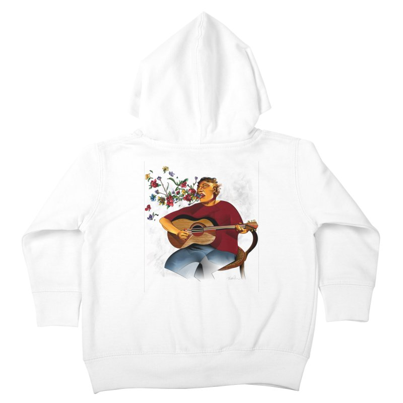 Guitar Kids Toddler Zip-Up Hoody by Todd Powelson's Artist Shop