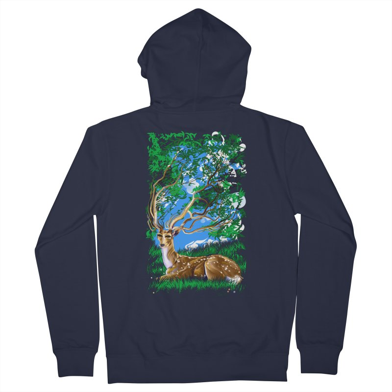 Nature Looks Back At You Men's Zip-Up Hoody by Todd Powelson's Artist Shop