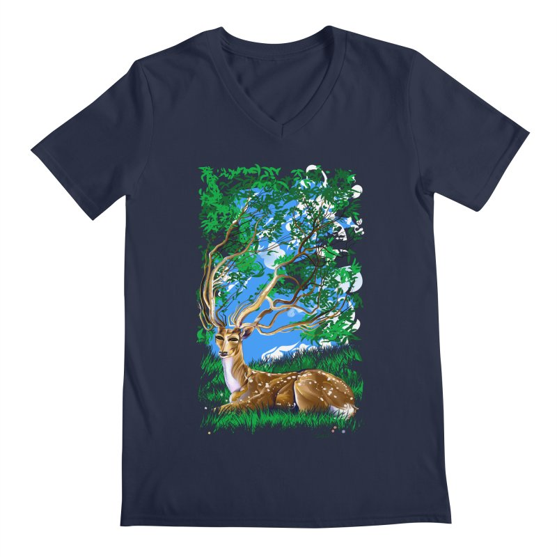 Nature Looks Back At You Men's V-Neck by Todd Powelson's Artist Shop