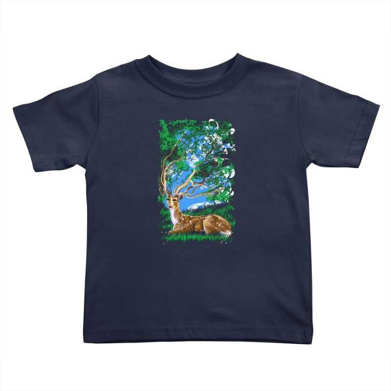 Nature Looks Back At You Kids Toddler T-Shirt by Todd Powelson's Artist Shop