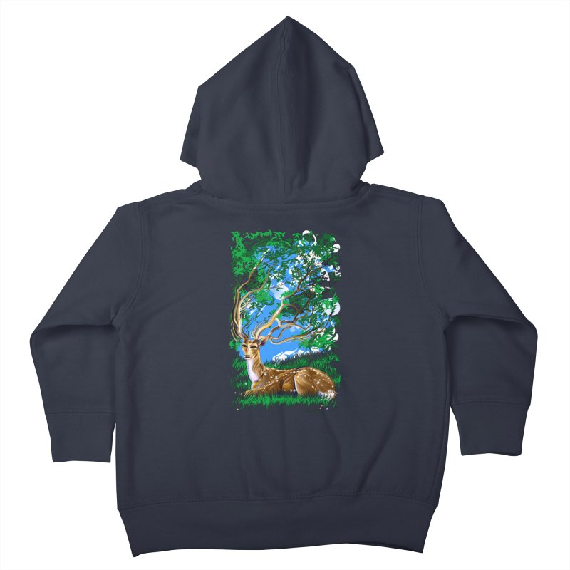 Nature Looks Back At You Kids Toddler Zip-Up Hoody by Todd Powelson's Artist Shop