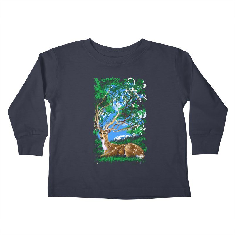 Nature Looks Back At You Kids Toddler Longsleeve T-Shirt by Todd Powelson's Artist Shop