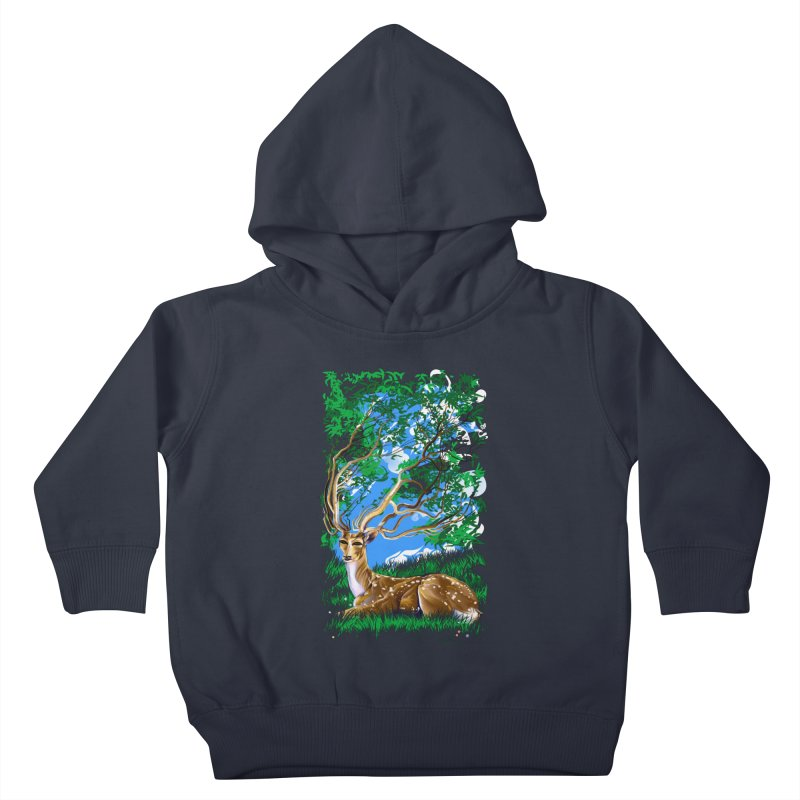 Nature Looks Back At You Kids Toddler Pullover Hoody by Todd Powelson's Artist Shop