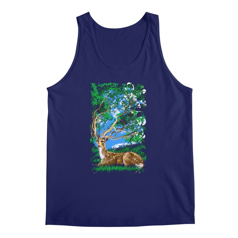 Nature Looks Back At You Men's Tank by Todd Powelson's Artist Shop