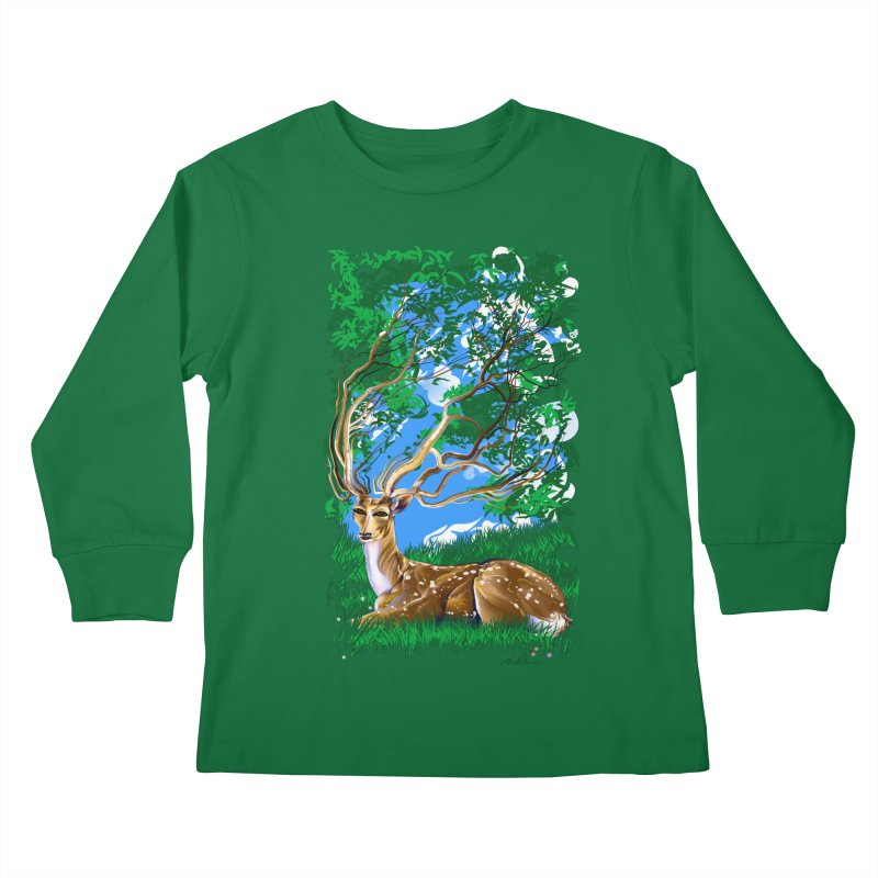 Nature Looks Back At You Kids Longsleeve T-Shirt by Todd Powelson's Artist Shop