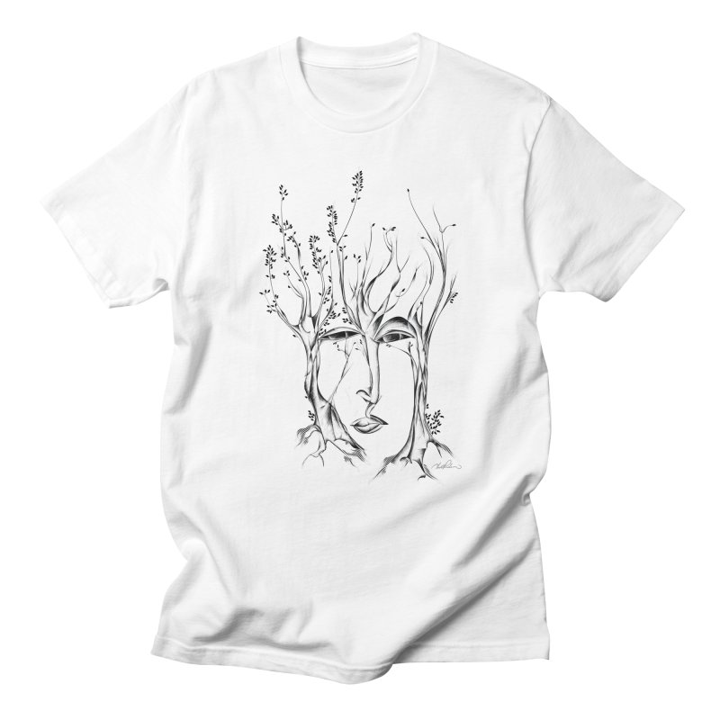 Winter Trees Men's T-Shirt by Todd Powelson's Artist Shop