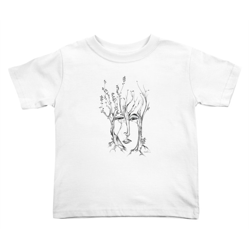 Winter Trees Kids Toddler T-Shirt by Todd Powelson's Artist Shop