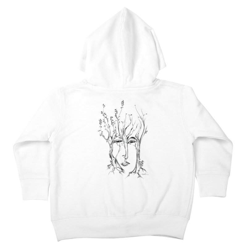Winter Trees Kids Toddler Zip-Up Hoody by Todd Powelson's Artist Shop