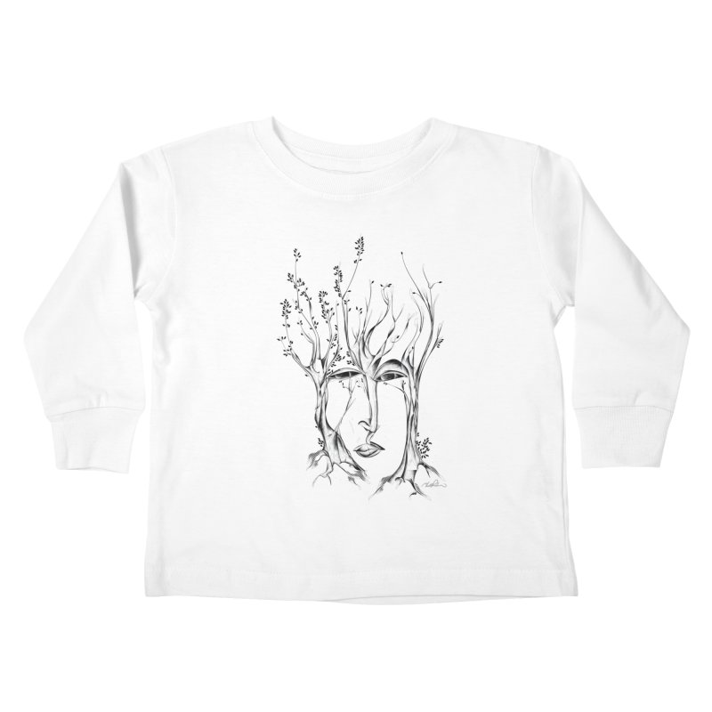 Winter Trees Kids Toddler Longsleeve T-Shirt by Todd Powelson's Artist Shop
