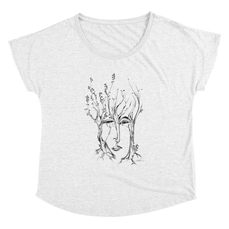 Winter Trees Women's Dolman by Todd Powelson's Artist Shop