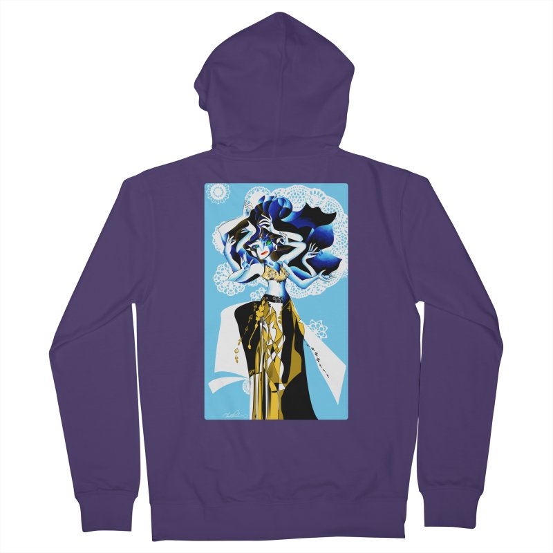 Dancer Women's Zip-Up Hoody by Todd Powelson's Artist Shop