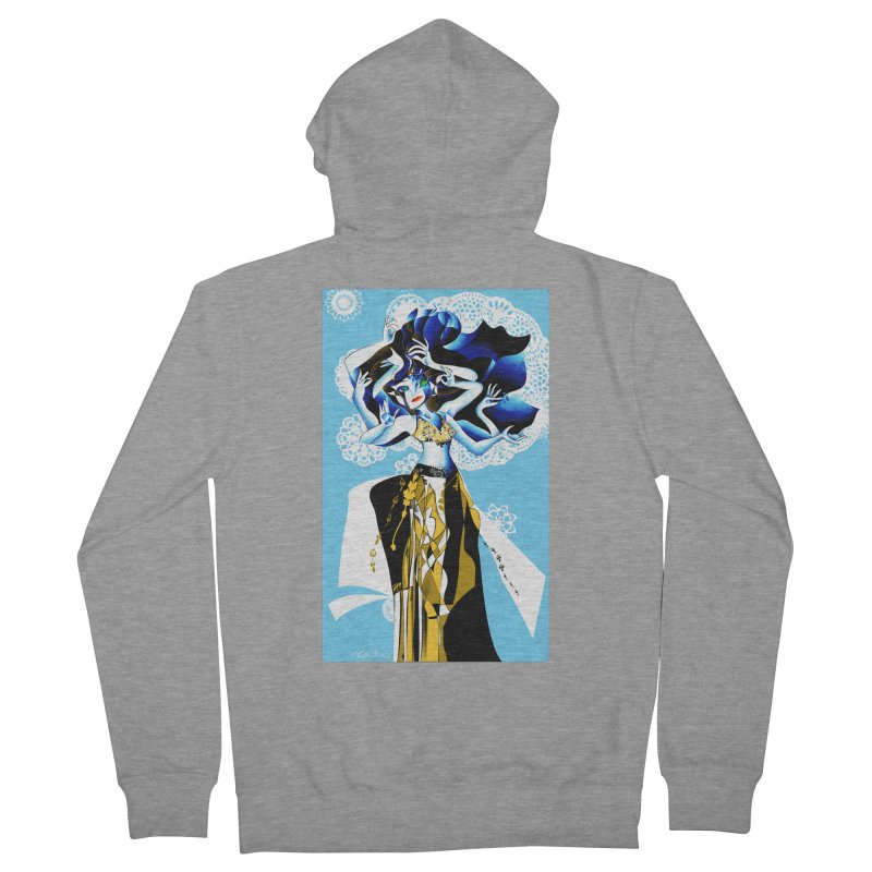Dancer Men's Zip-Up Hoody by Todd Powelson's Artist Shop