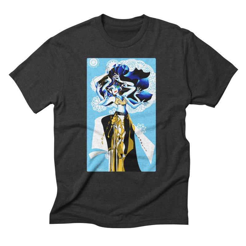 Dancer Men's Triblend T-Shirt by Todd Powelson's Artist Shop