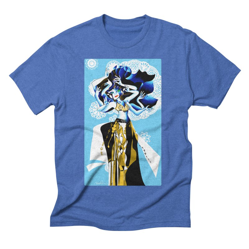Dancer Men's Triblend T-shirt by Todd Powelson's Artist Shop