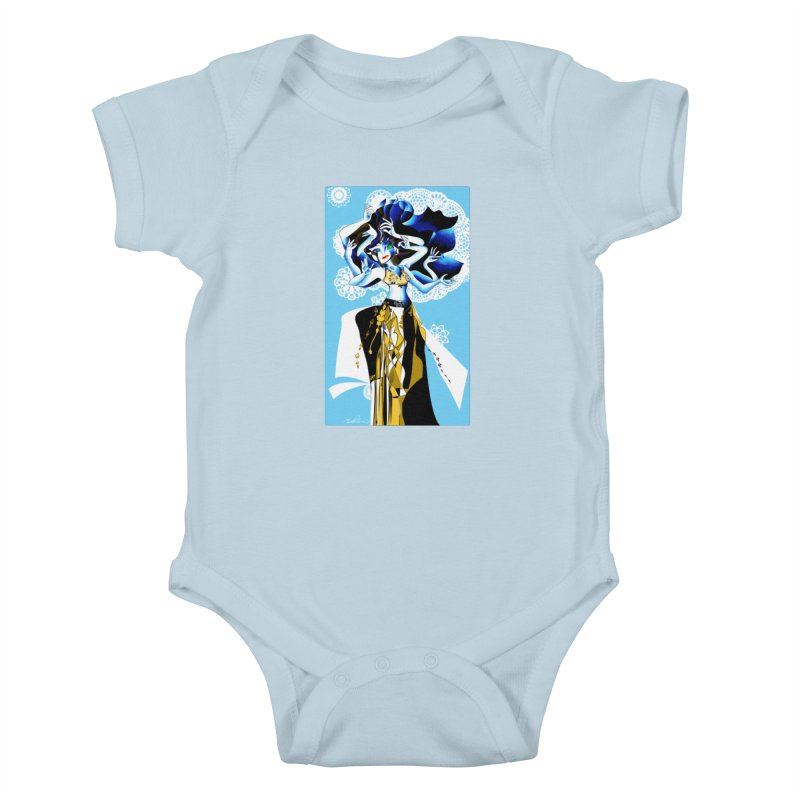 Dancer Kids Baby Bodysuit by Todd Powelson's Artist Shop