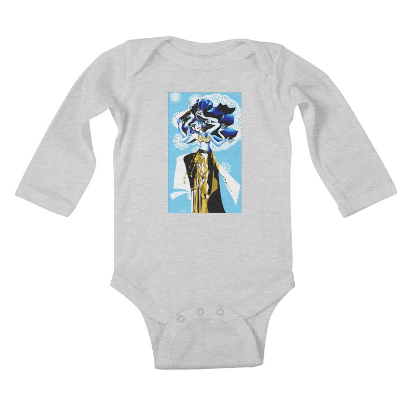 Dancer Kids Baby Longsleeve Bodysuit by Todd Powelson's Artist Shop