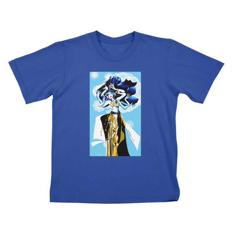 Dancer Kids T-Shirt by Todd Powelson's Artist Shop